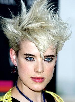 Wild Spiky Hairstyle
