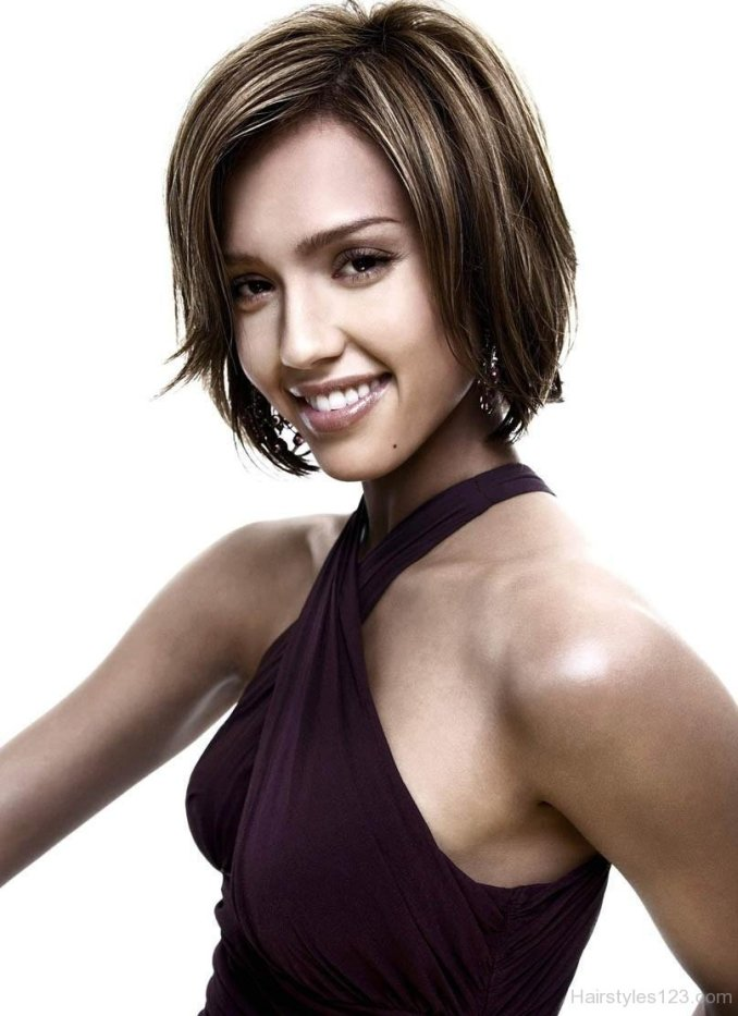 Image Result For Jessica Alba Long Bob Hairstyle