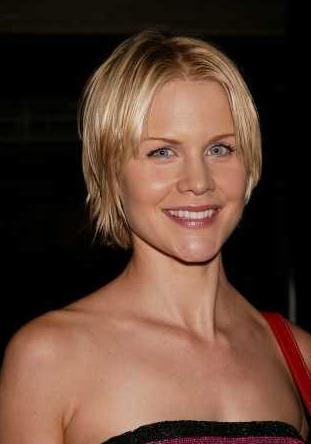 Josie Davis Casual Short Hairstyle