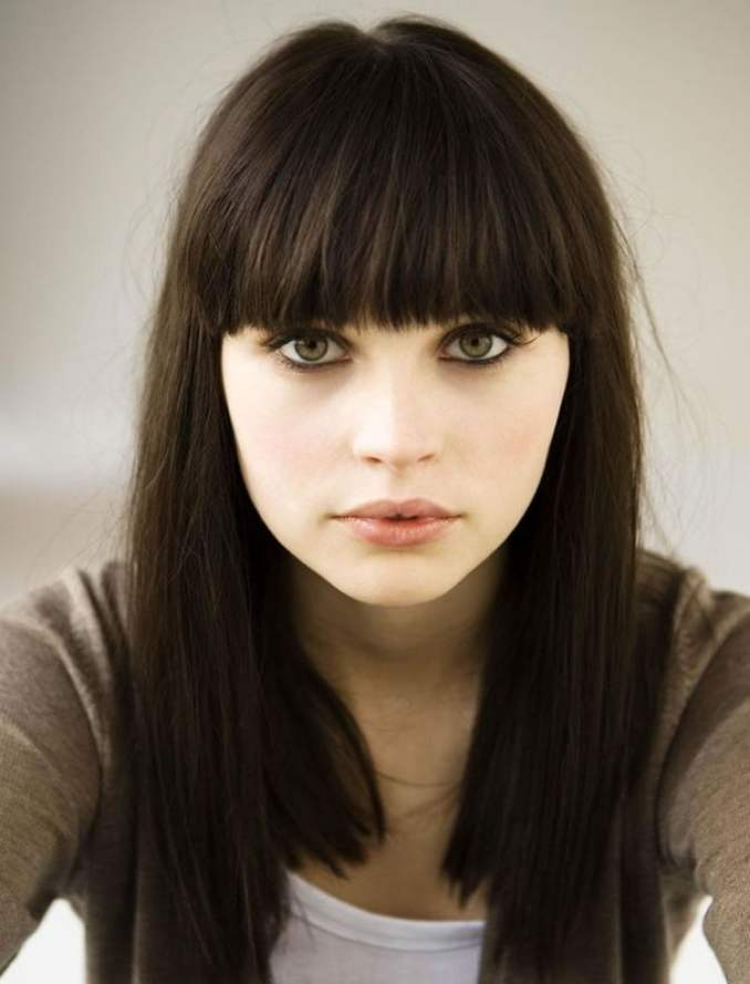 Image Result For Long Hairstyles For Round Faces And Thin Hair