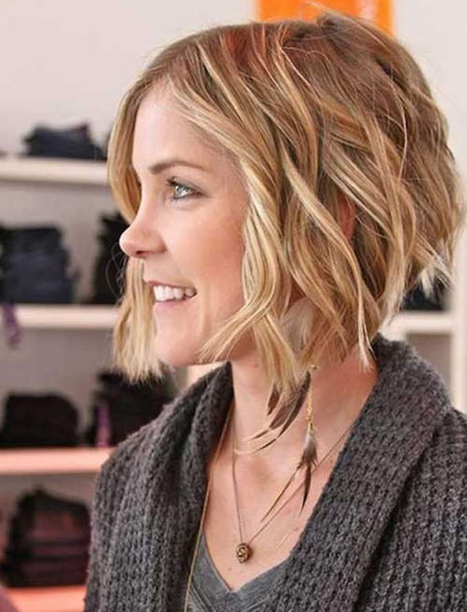 Image Result For Short Wavy Hairstyles With Bangs