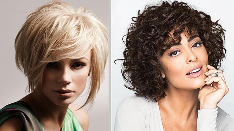 Curly Layered Bob Haircut Hairstyle
