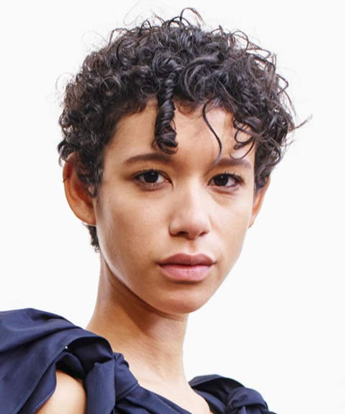 Image Result For Short Curly Hairstyles On Pinterest
