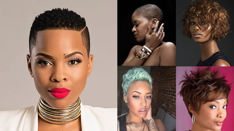 32 Exquisite African American Short Haircuts And