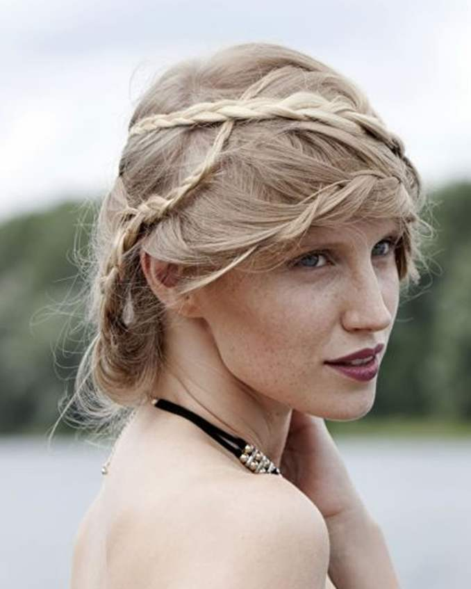 Image Result For Creative Long Hairstyles