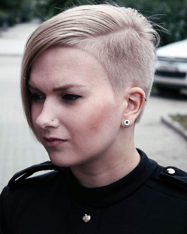 feminine extreme short haircuts for ladies 2018-2019