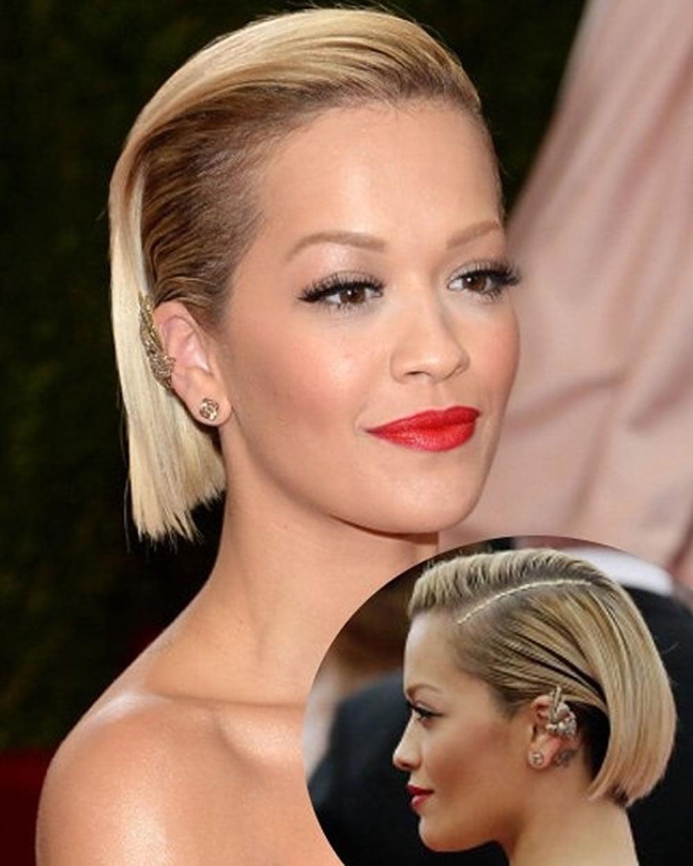 Rita Oras Short Hairstyles Pixie Bob For 2018