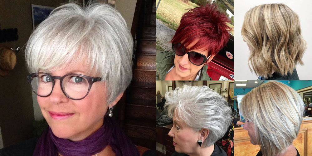 Cool Gray Short Haircut Amp New Hair Color Ideas For Older
