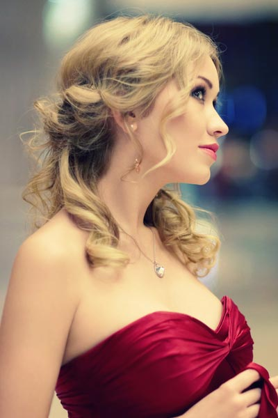 Cute Easy Updos Medium Length Hair