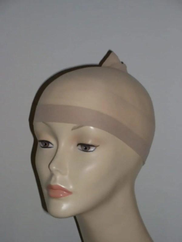 Wig cap in light colour