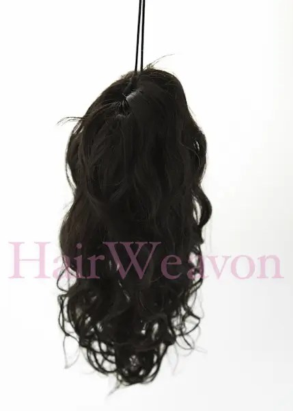 Ponytail Hair Extensions Wavy