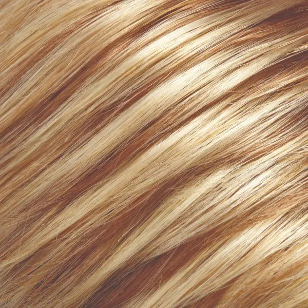 14/26 Pralines n Cream Med Natural-Ash Blonde & Med Red-Gold Blonde Blend