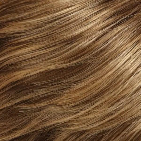 24BT18 | Éclair | Dark Natural Ash Blonde & Light Gold Blonde Blend with Light Gold Blonde Tips