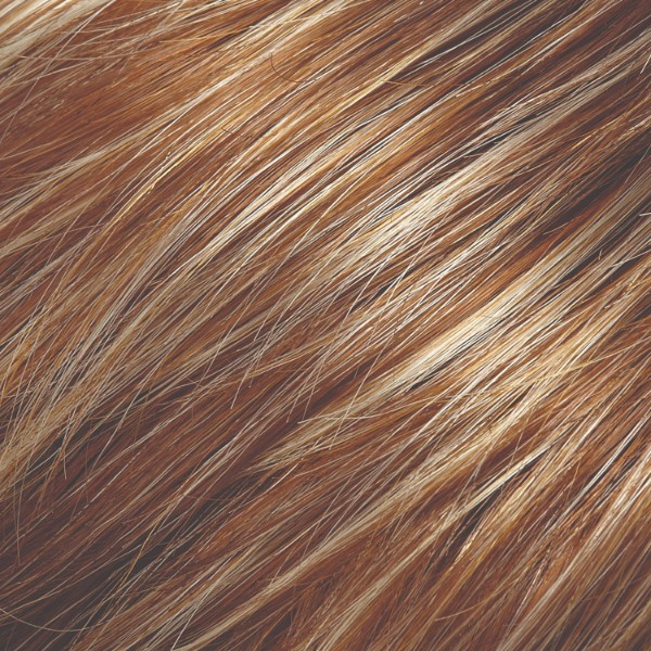 FS26/31 | Caramel Syrup Med Natural Red Brown with Med Red Gold Blonde Bold Highlights
