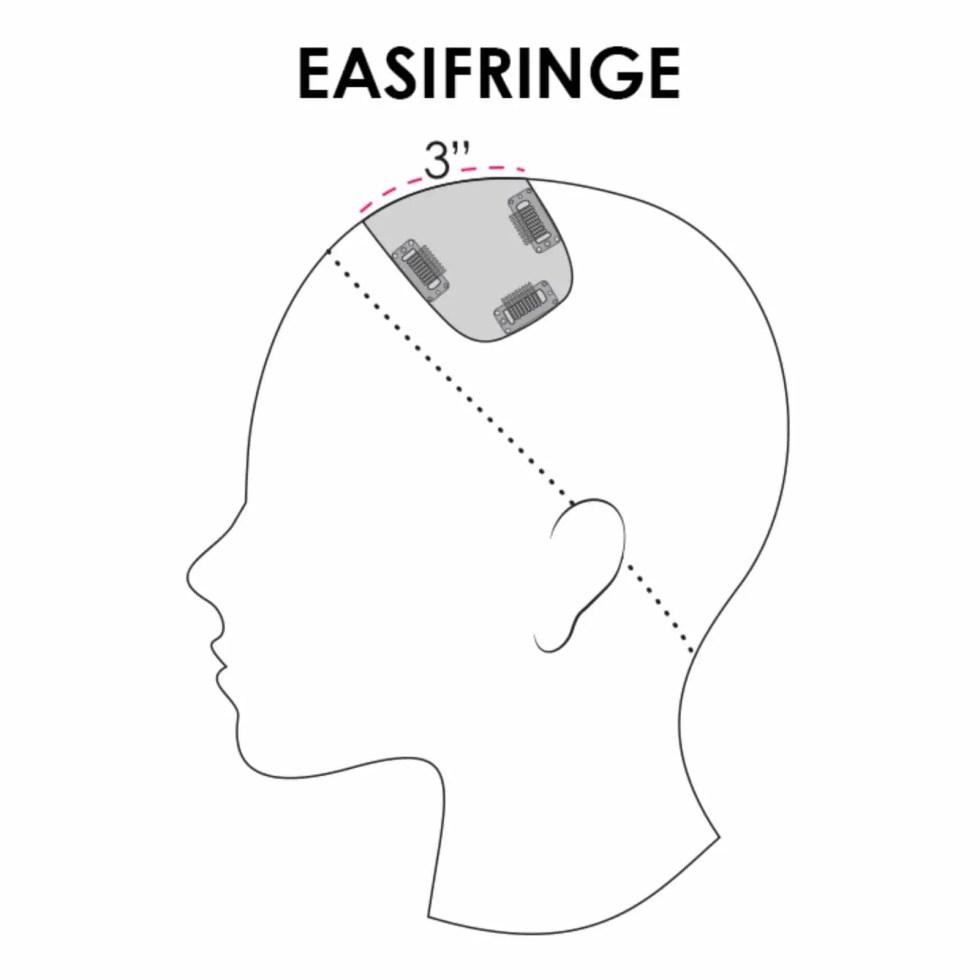 easiFringe Heat Friendly Piece by Jon Renau