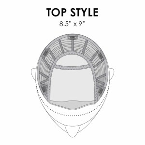 Top Style Piece Placement & Base Dimensions