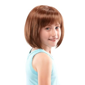 Shiloh Wig For Kids | Synthetic Wig (Mono Top) | 11 Colours