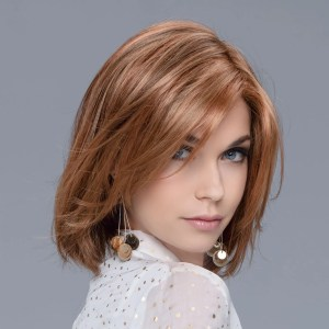 Flirt Wig In SAFRAN BROWN ROOTED By Ellen Wille