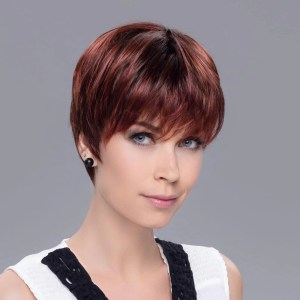 Pixie Wig In HOT FLAME ROOTED By Ellen Wille