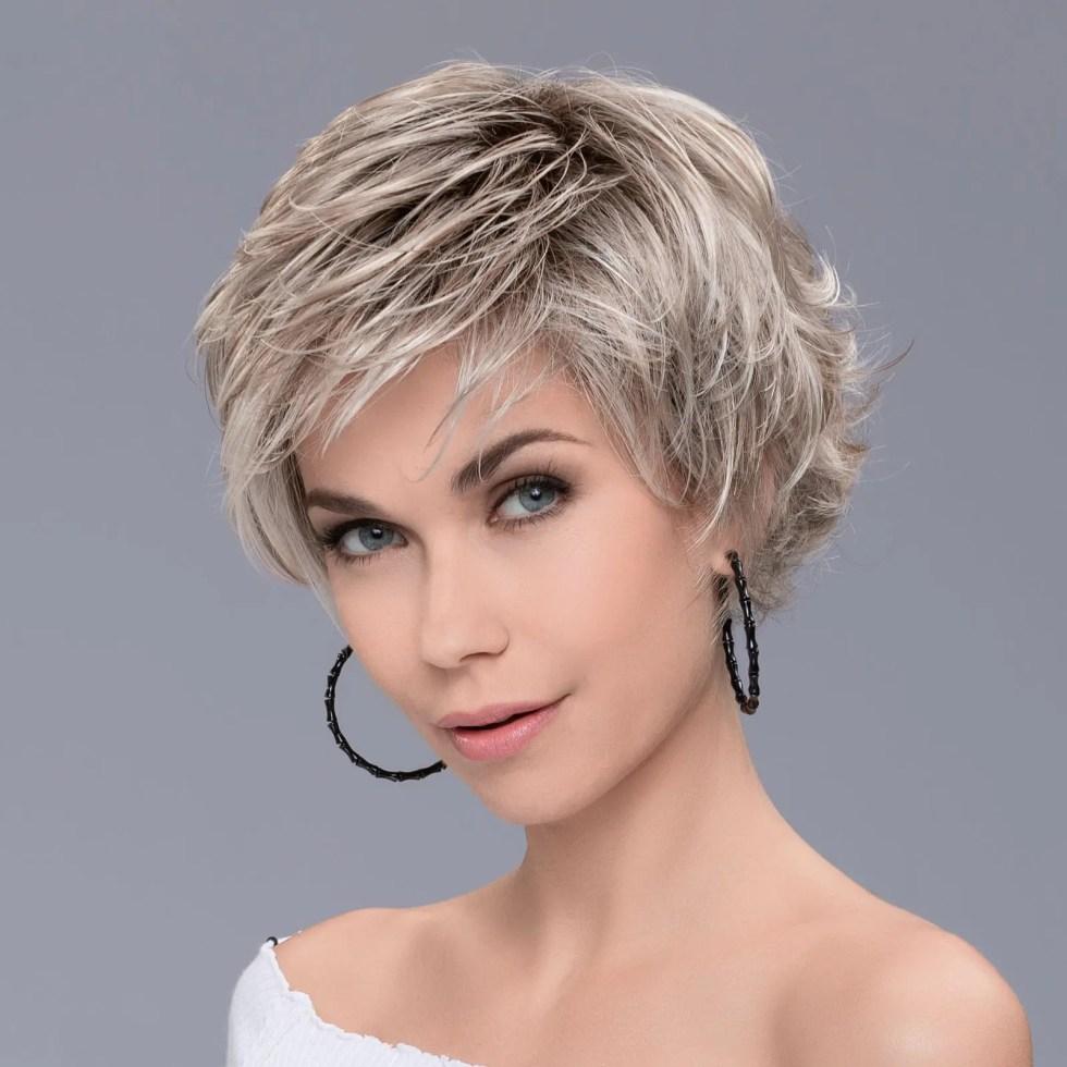 Raise Wig in PASTEL BLONDE ROOTED by Ellen Wille
