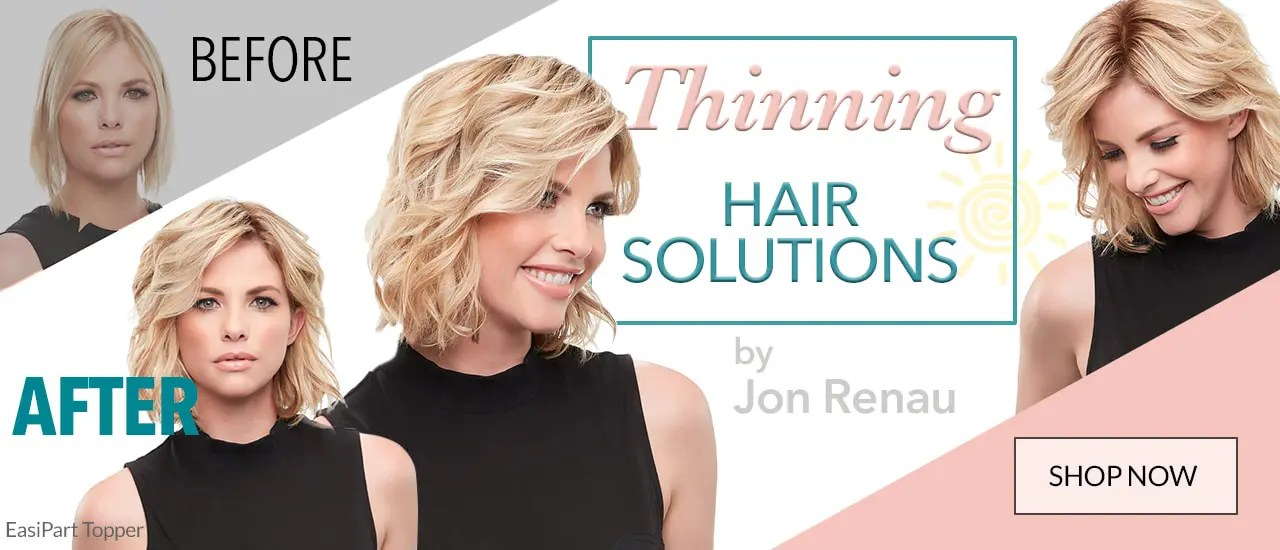 HAIR TOPPERS for thinning hair