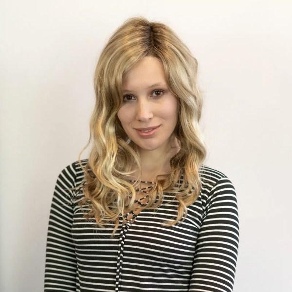 Sarah Wig by Jon Renau in 22F16S8   Venice Blonde