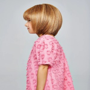 Pretty In Page Wig For Girls By Hairdo