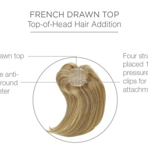 Indulgence Hair Topper | Human Hair Piece By Raquel Welch