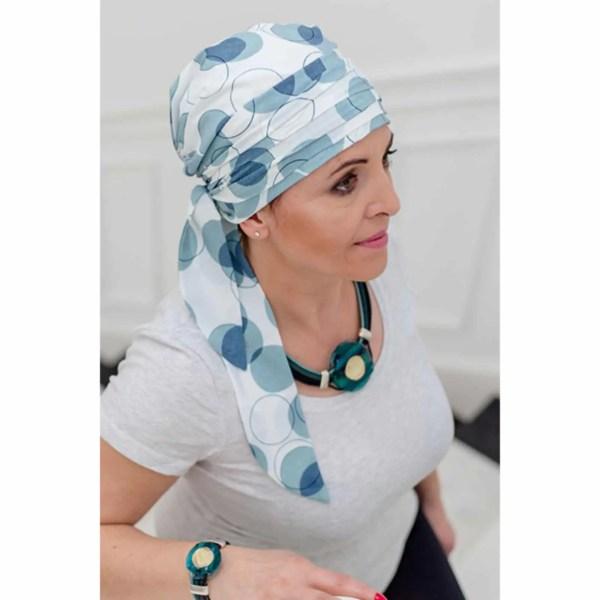 Monika Silk Scarf 9/96 | Headwear for women with hair loss