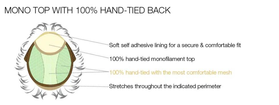 Mono Top and Hand tied back Estetica