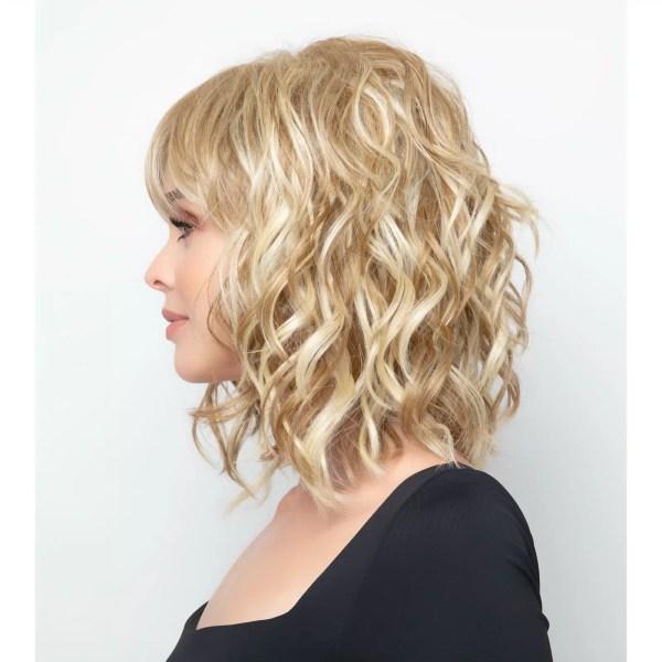 Breezy Waves Wig by Rene of Paris in Creamy Toffee