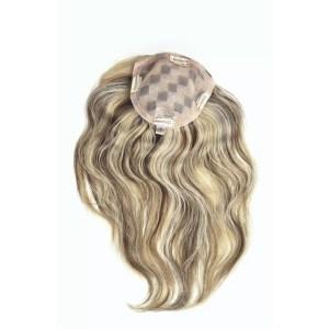 182 Light HH (Mono) | 100% Human Hair Topper | 14 Colours