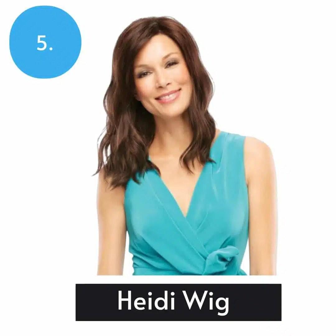 Heidi Wig By Jon Renau | Mid Length Synthetic