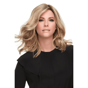 Top Smart 12″ Wavy Hair Topper | Synthetic Lace Front (Mono Base) | 35 Colours