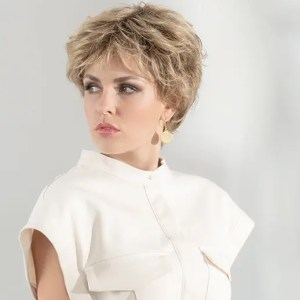 Charme Wig By Ellen Wille   Short Synthetic Lace Front Wig With Fringe