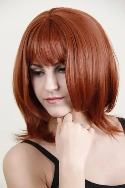 Haley Human Hair Wig customised