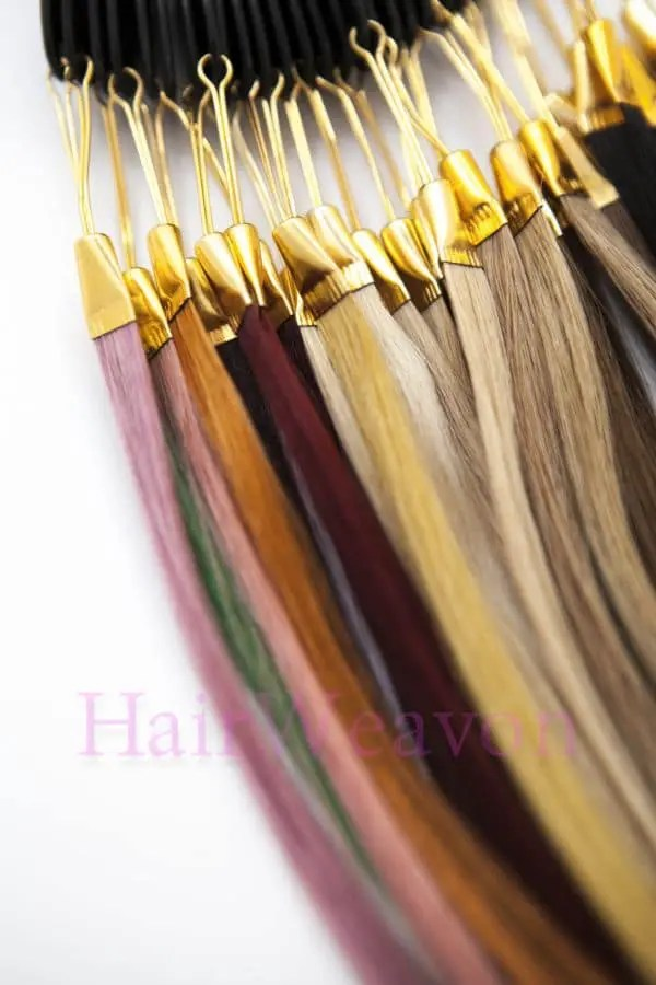 hair extensions colour ring