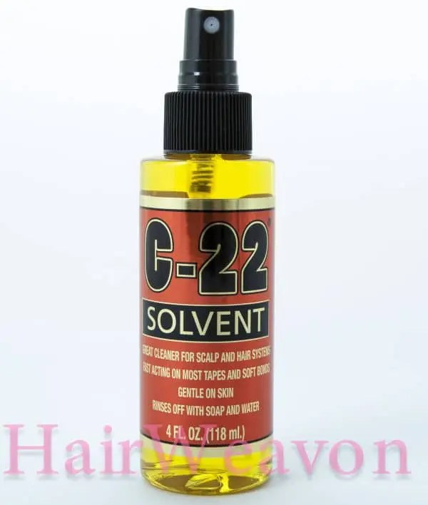 C22 scalp and hair system cleaner
