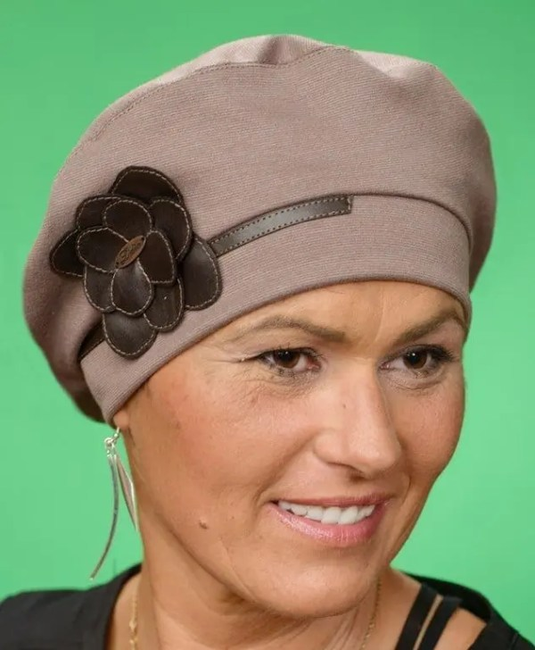 Turban Florence Brown