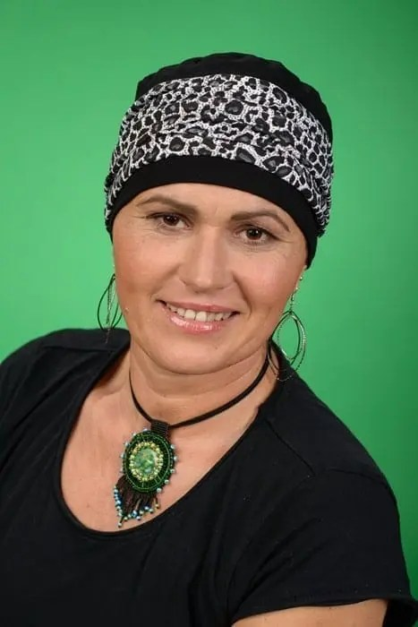 Turban Diana for cancer patients