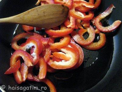 Mod de preparare pentru sosul rosu