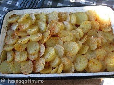 Musaca de cartofi