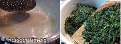 Cum preparam piureul de spanac?