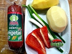 Salam vegetal de post AIVIA