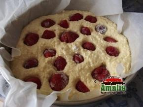 Cheesecake cu capsuni 5