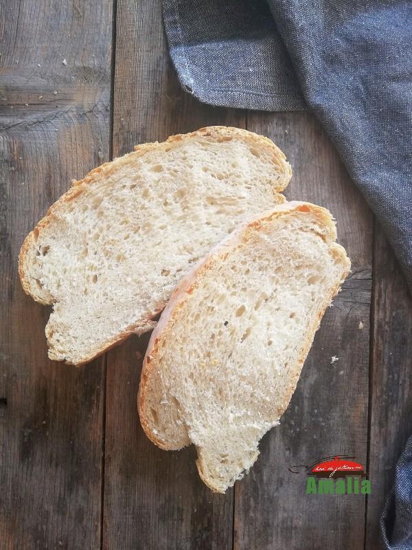Pâine cu maia cu drojdie