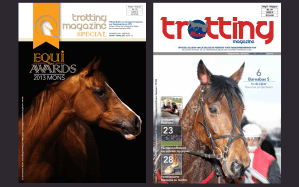 Trotting magazine slide
