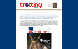 Trotting Magazine Website