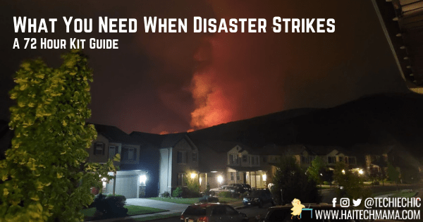 What You Need When Disaster Strikes