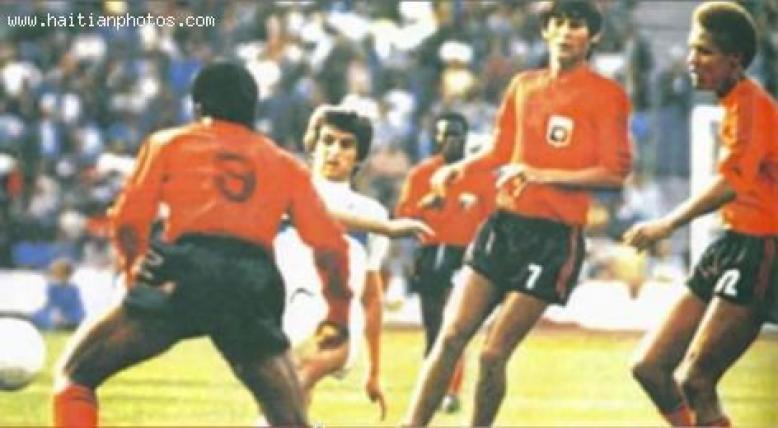 Haiti National soccer team, 1974